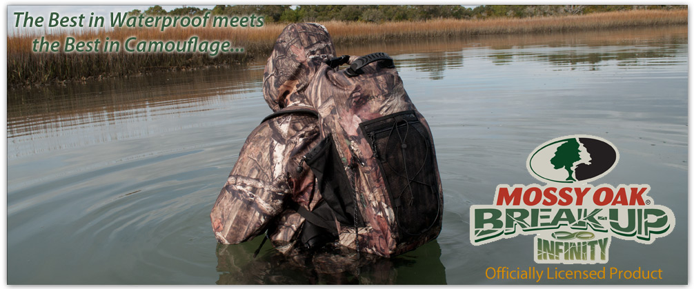 Mossy Oak DryCASE Waterproof Backpack